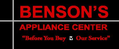 Bensons Appliance Center Foley Alabama Foley Appliances